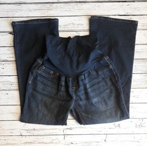 INDIGO BLUE Petite Maternity Jean's Boot Cut PM